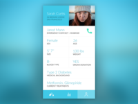 Daily UI challenge #006 – User Profile