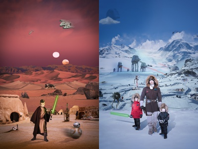 May the 4th Be With You photoshop may4th poster tatooine