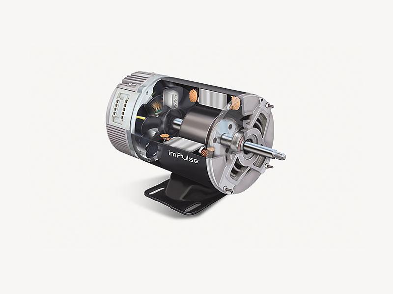 Impulsemotor