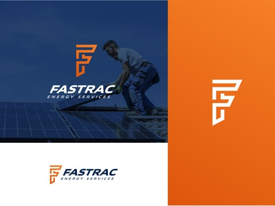 Fastrac monogram icon energy solar