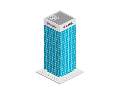 Isometric Building illustration