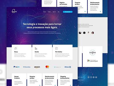 Docket - Redesign design web ux ui concept