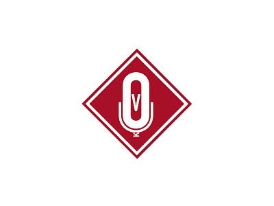 Voiceovers-UK (VOUK) design brand logo recording studio music mic microphone