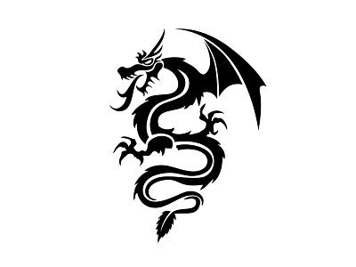 The Dragon 'Master of Mojito' dragon illustration mohi drink tail leaf mint brand logo