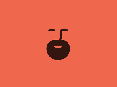 Personnal Branding Update personal branding logo mark cherry face beard happy customer reverdy