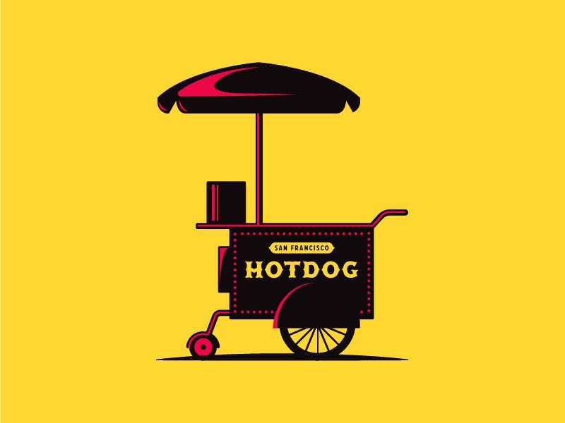 Logo Mark experiments #3 sf brand dog hot stang logo
