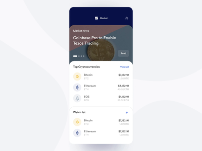 Track, Hodl, Learn finance app fintech wallet stories cryptocurrency uxui ios ux concept crypto wallet crypto