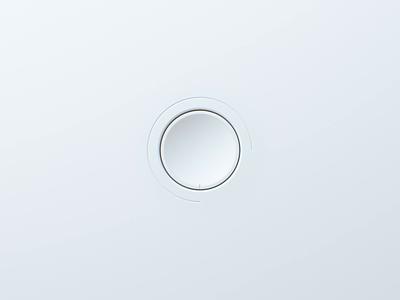 Neumorphic Button cinema4d octane c4d cinema 3d neumorphic neumorphism
