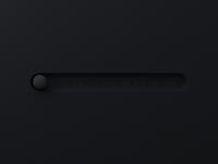 Black Ruleball octane c4d after effect 3d design neumorphism neumorphic ux ui animation