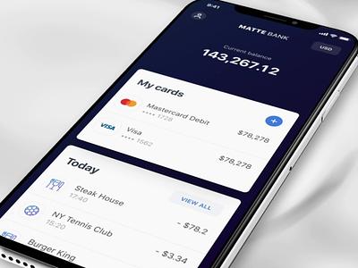 Fintech Kit animation app ux ui crypto accounts banking finance bank app fintech bank