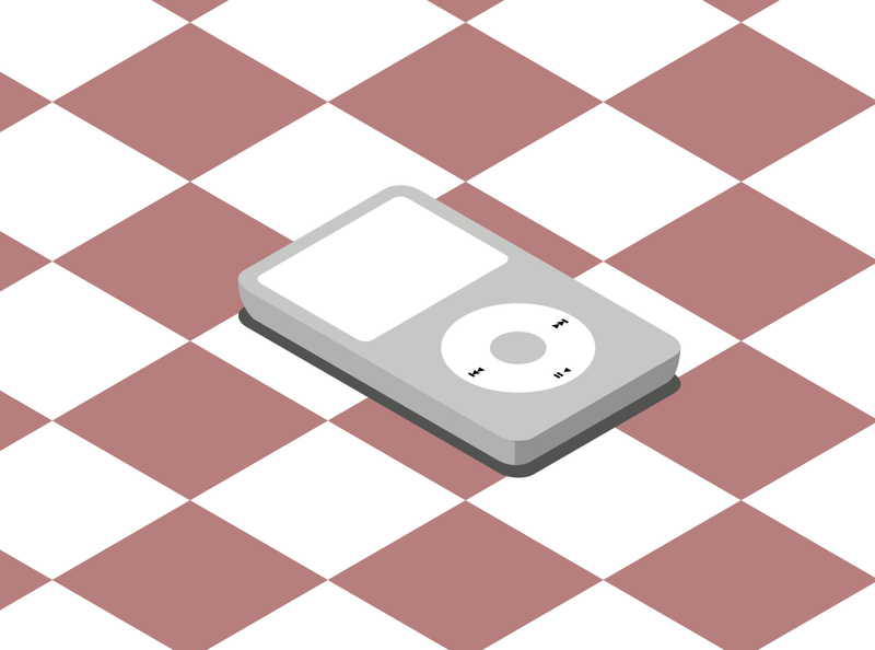 SimpleObjectsIllustration.Ipod