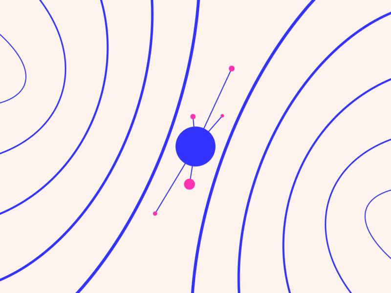 random30 - gravity experiments graphic geometric abstract minimalist illustration vector design