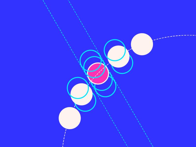 random31 - quantum orbit experiments inspiration graphic geometric abstract minimalist illustration vector design