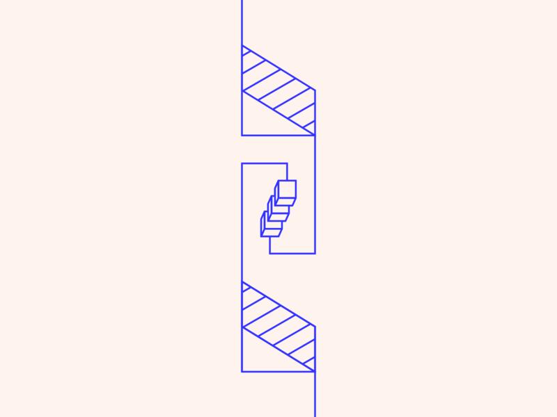 random36 - extra steps experiments graphic inspiration geometric abstract minimalist illustration vector design
