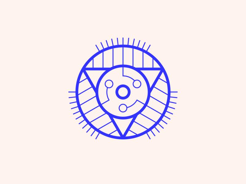 random40 - cyber trinity experiments graphic inspiration geometric abstract minimalist illustration vector design