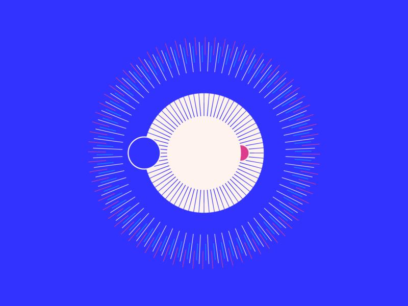 random43 - supernova vector art experiments minimal inspiration graphic geometric abstract minimalist illustration vector design