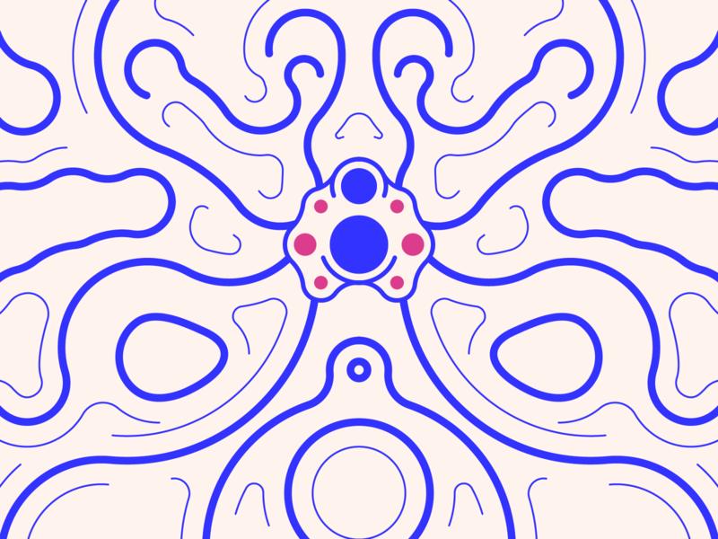 random44 - spider vector art experiments minimal inspiration graphic geometric abstract minimalist illustration vector design