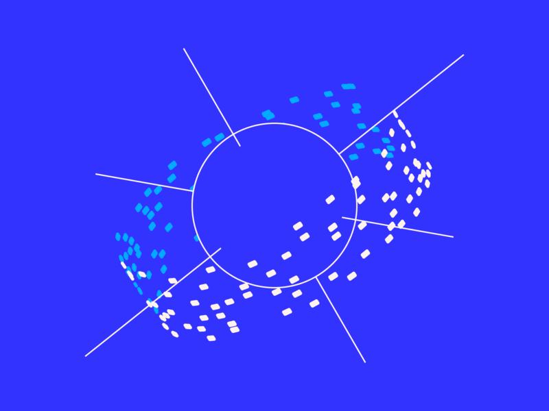 random46 - spacetrash planet space vector art experiments minimal inspiration graphic geometric abstract minimalist illustration vector design