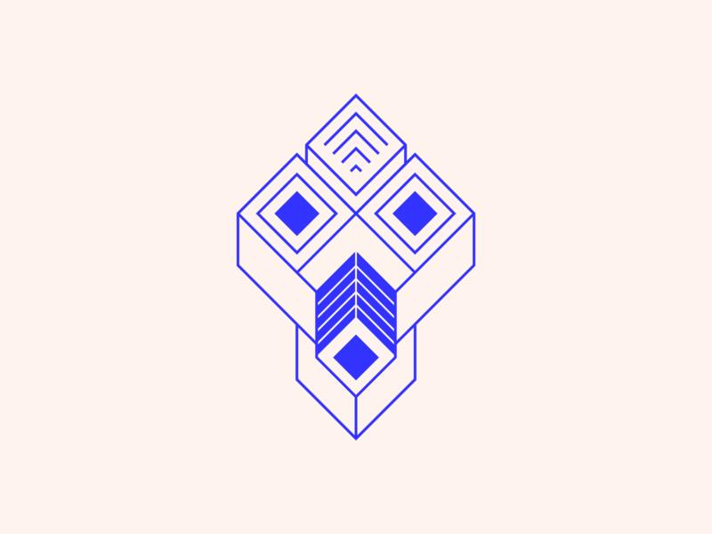 random50 - mask mask vector art experiments minimal inspiration graphic geometric abstract minimalist illustration vector design