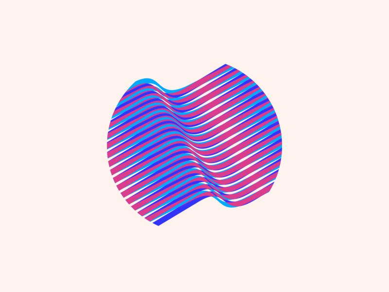 random58 - flow vector art experiments minimal inspiration graphic geometric abstract minimalist illustration vector design