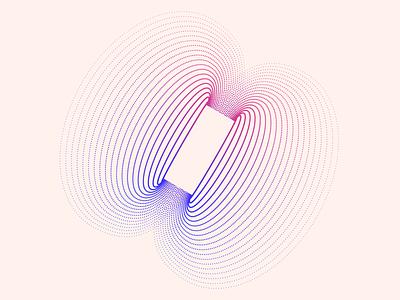 random73 magnet magnetic magnet vector art experiments minimal inspiration graphic geometric abstract minimalist illustration vector design
