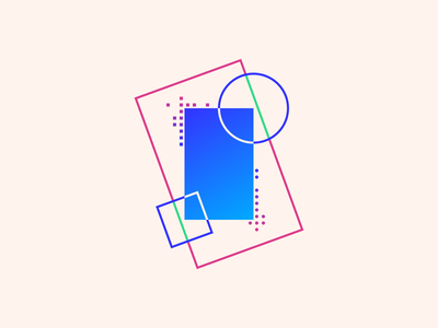 random75 frame vector art experiments minimal inspiration graphic geometric abstract minimalist illustration vector design