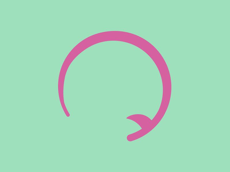 #Typehue Week 17: Q typehue week 17: q typehue surf surfboard q minimal typography flat pink green