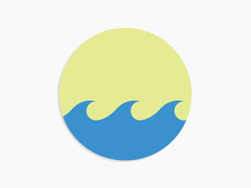 #Typehue Week 23: W typehue week 23: w simple waves minimal design visual graphic typography