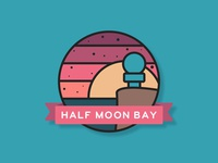 Half Moon Bay Icon