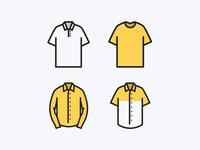 Shirt Icons