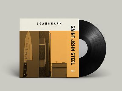 Saint John Steel - Album Design System music art design system simple album artwork graphic design typography minimal album cover art album art