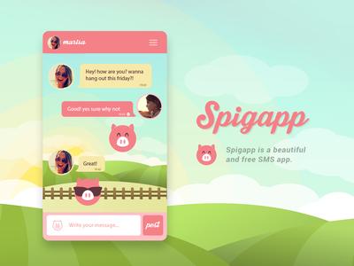 Spigapp - App & Illustration
