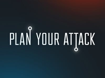 Plan Your Attack Wordmark plan your attack attack typography logo wordmark logotype volleyball hudl