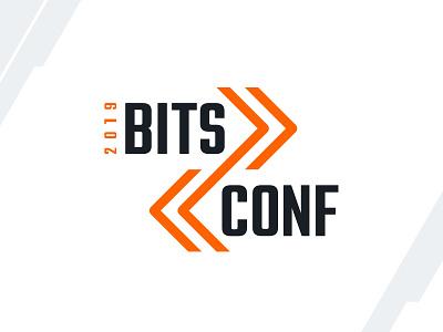 BitsConf Logo bits design brand badge mark conference branding developer logo