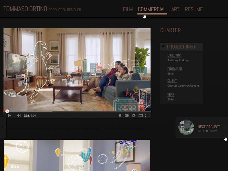 Tommaso Ortino Production Designer portfolio site set design production design tommaso ortino