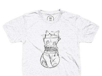 They're Baaaaaack all the tees cats coffee illustration cotton bureau