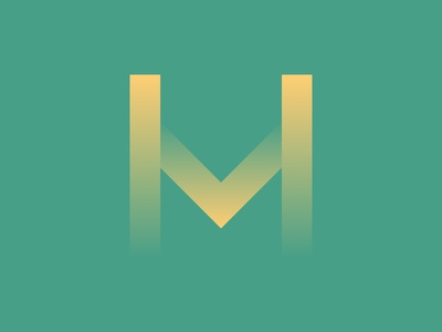 M by Jeff Grace via dribbble