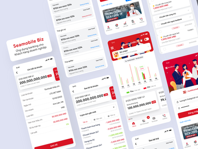 Mobile Banking - For Business Customers banking app bank card card mobile xd freebie app free money bank app banking