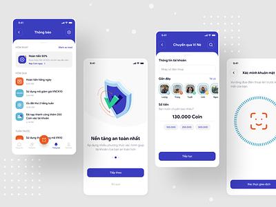 Wallet Mobile App Design bank app wallet banking figma app free freebie xd mobile