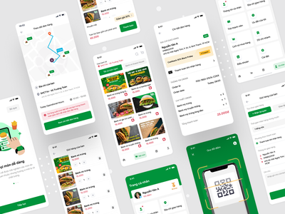 Snack House Mobile App - Food Delivery delivery food tracking order figma free xd mobile freebie app breaf snack house