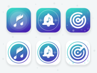 Ringtone, music player - app icon part 1