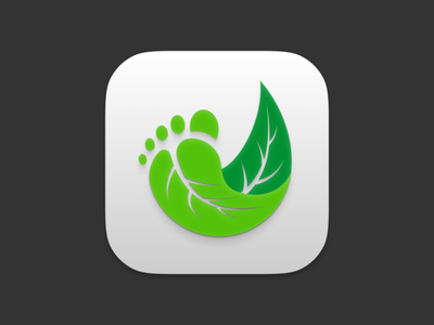 Jejak.in Icon - BigSur Style logo bigsur icon