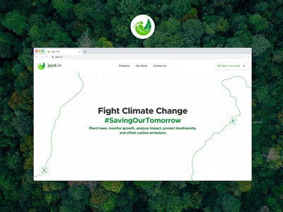 Jejak.in Landing Page branding website design landing page ui  ux design