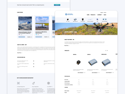 B2B Category Page webdesign b2b website