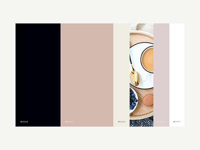 Color Palette - Neutrals mood board design layout design branding neutral colors color color scheme color palette