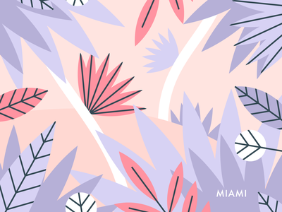 Miami miami identity character illustrator visual design branding illustration