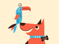Toucan and Dog