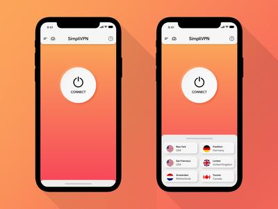 SimpliVPN App for iOS