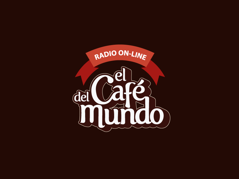 El Cafe Del Mundo marca brand logo isotipo isotype logotipo logotype