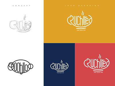 Cafe Logo Concept branding typography illustration logo